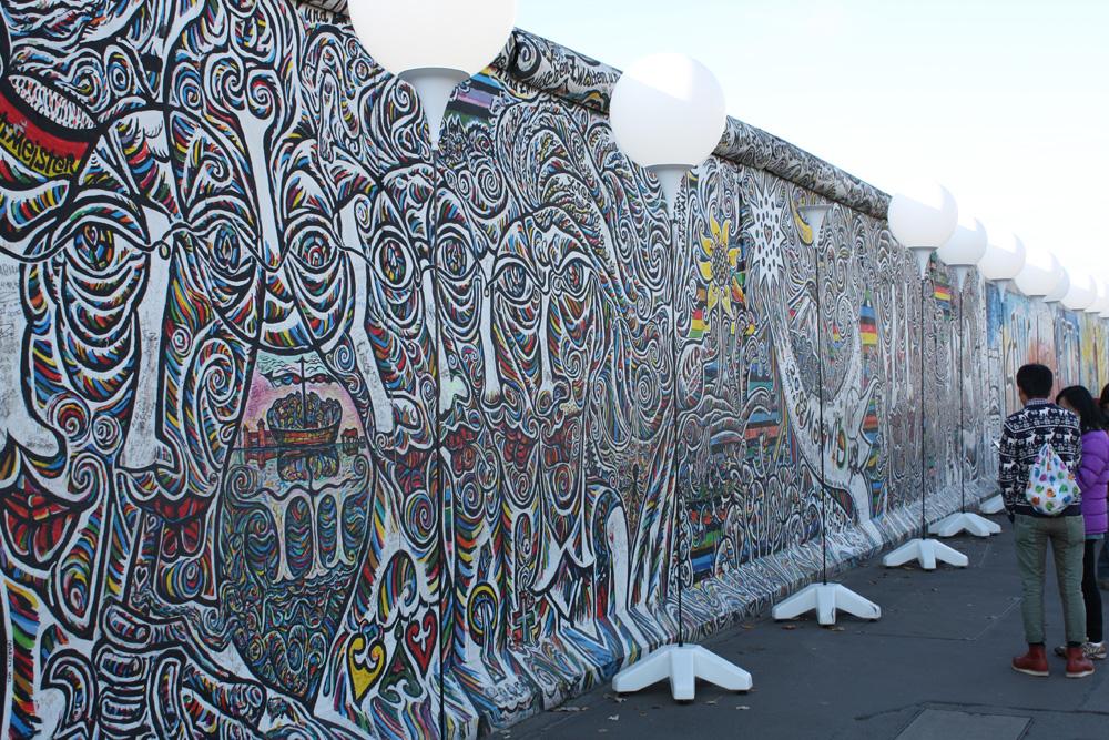 Berlins 12 distrikter - Friedrichshain-Kreuzberg. Mest kendt i Friederichshain er nok Eastside Gallery