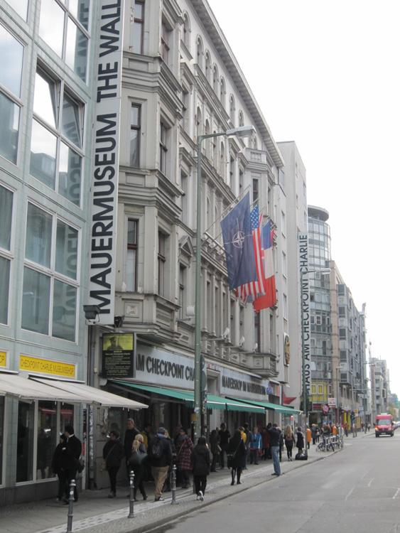 Checkpoint Charlie Museum Berlin - Spændende museum fra Berliner murens tid