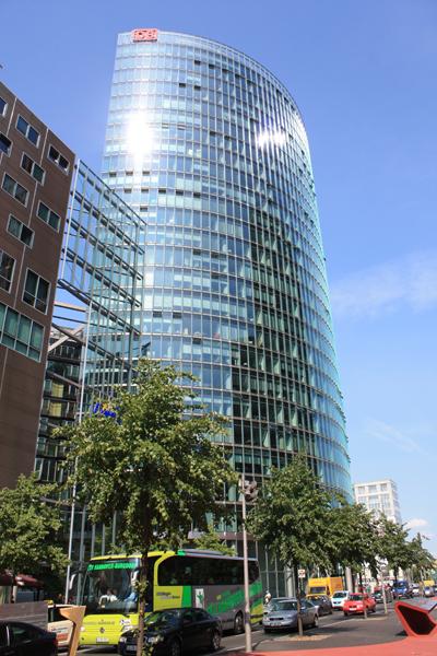 Top 10 Berlin kids -  DB Bygning på Podsdamer platz
