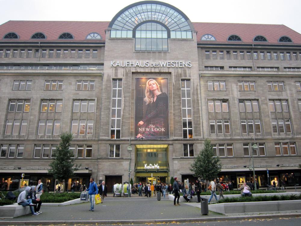 Shoppingcentre - kadewe, kaufhaus des Westens