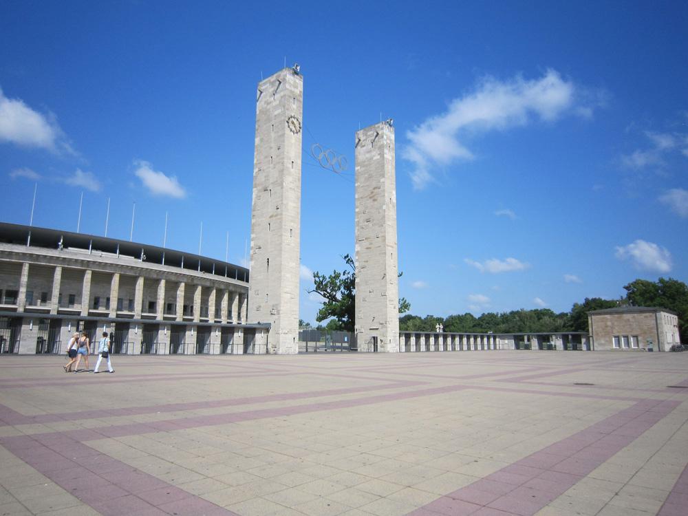 Olympia Stadion Berlin - Indgangen