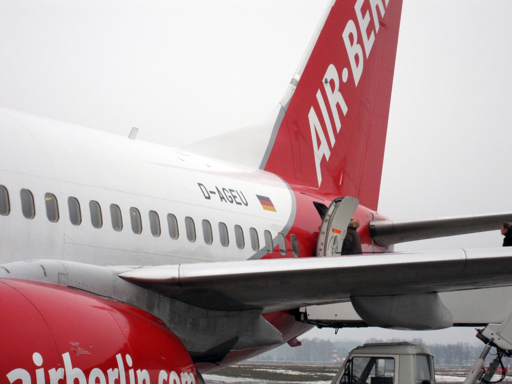 Airberlin Tegel 2010
