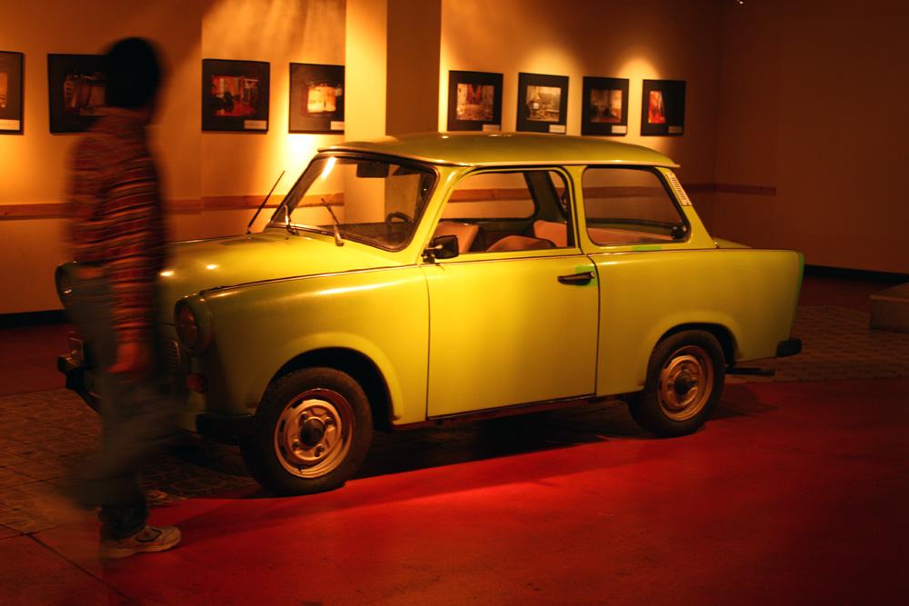 Top 10 Berlin kids - Trabi på museet Story of Berlin