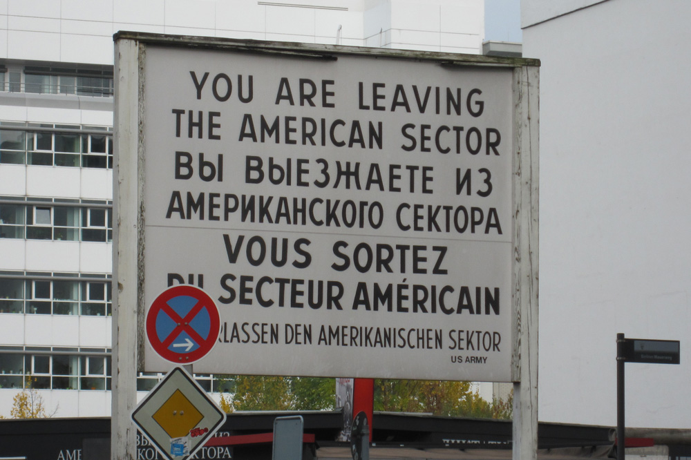 Attraktioner - Checkpoint Charlie