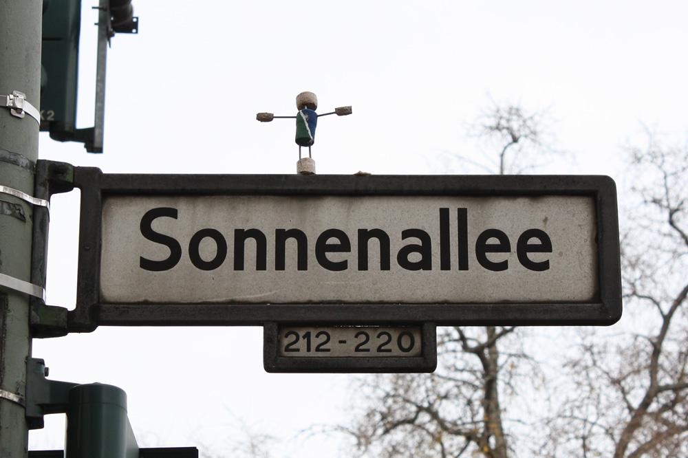 Andre oplevelser - Sonnenallee i Neukölln. Gaden er mest kendt for filmen af samme navn der foregår i DDR tiden og viser en absolut alternativ kultur i DDR.