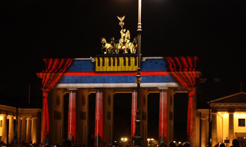 es gibt nur ein berlin - Brandenburger Tor